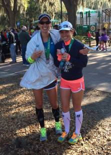 Publix Savannah Women's Half Marathon PR with Claudia