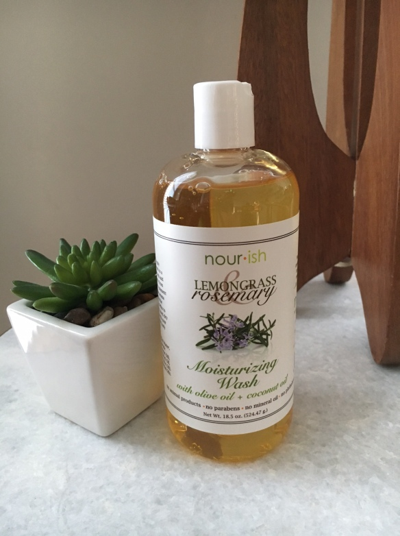 Lemongrass and Rosemary Moisturizing Wash